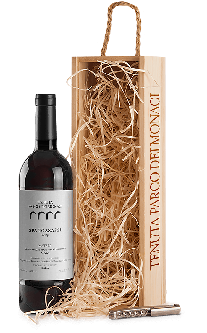 cassetta-1-legno-bottiglia-tenuta-parco-dei-monaci-azienda-agricola-vitivinicola-produzione-vino-primitivo-doc-monacello-rosapersempre-spaccasassi-matera-basilicata