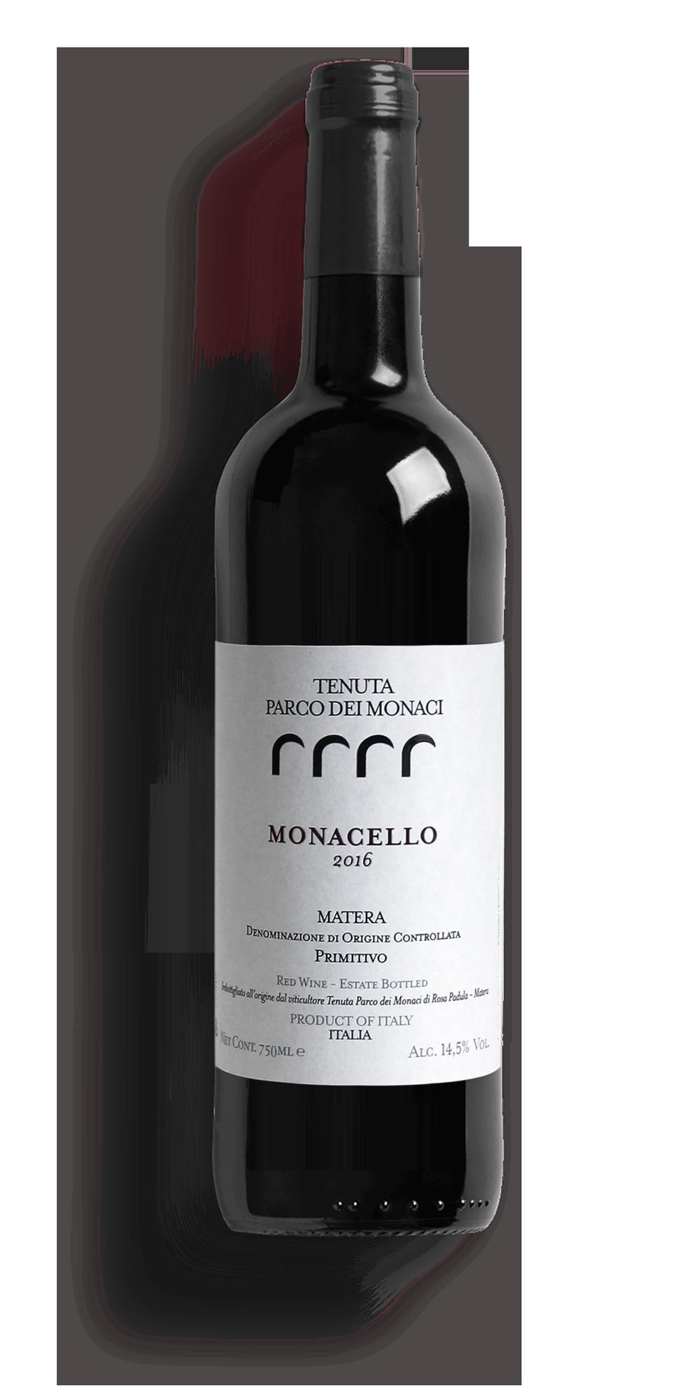 monacello tenuta-parco-dei-monaci-azienda-agricola-vitivinicola-produzione-vino-primitivo-doc-monacello-rosapersempre-spaccasassi-matera-basilicata